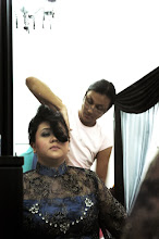 Ayang Kamell Make up me on wedding day