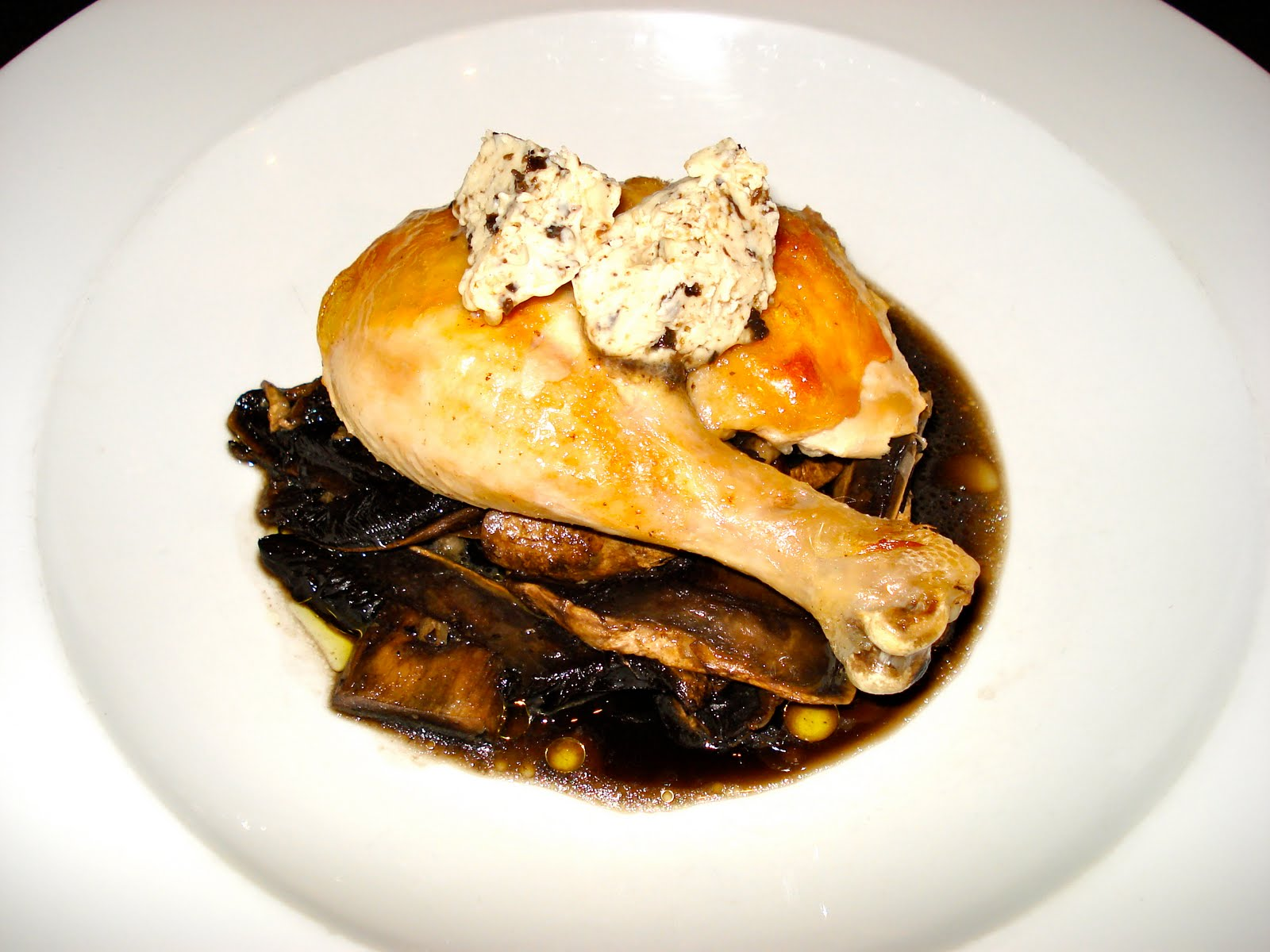 Behind The Burners: TWICE-COOKED CHICKEN, MUSHROOM RAGOUT ...
