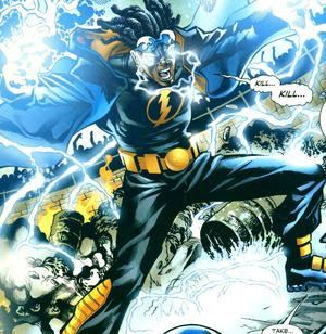 coldcast black lightning static and storm vs thor