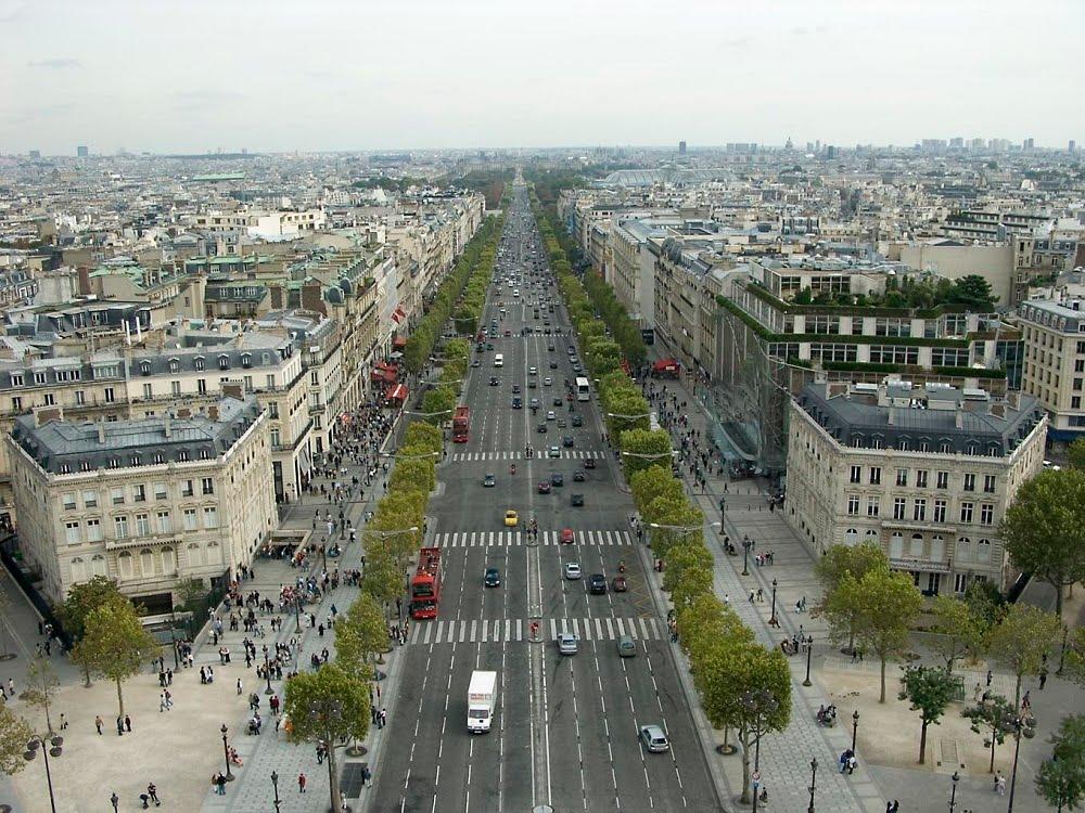 Paris sehensw rdigkeiten champs elys es - Comptoir des cotonniers champs elysees ...