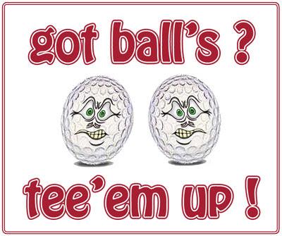 Brain Bounce Funny Cartoon Humor Funny Golf Cartoons Got Ball S