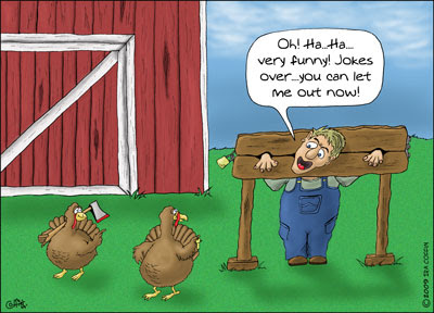 Funny Thanksgiving Cartoons=