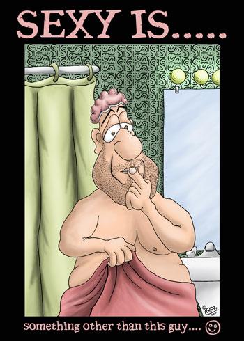 Funny Cartoon: Sexy Is