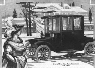 Anuncio Detroit Electric 1912
