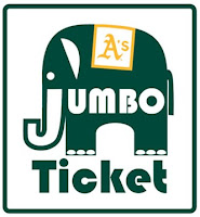 Jumbo Tickets - Oakland Athletics