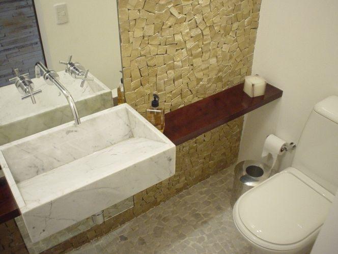 Redecorar id ias para lavabos pequenos - Lavabos de pared ...
