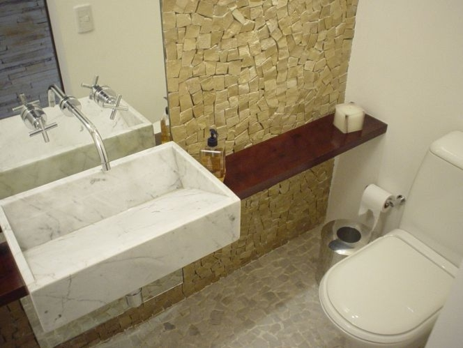 Redecorar id ias para lavabos pequenos for Fotos lavabos pequenos