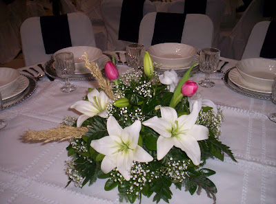 Floreria al natural tips para tu fiesta de graduaci n - Centros de boda ...