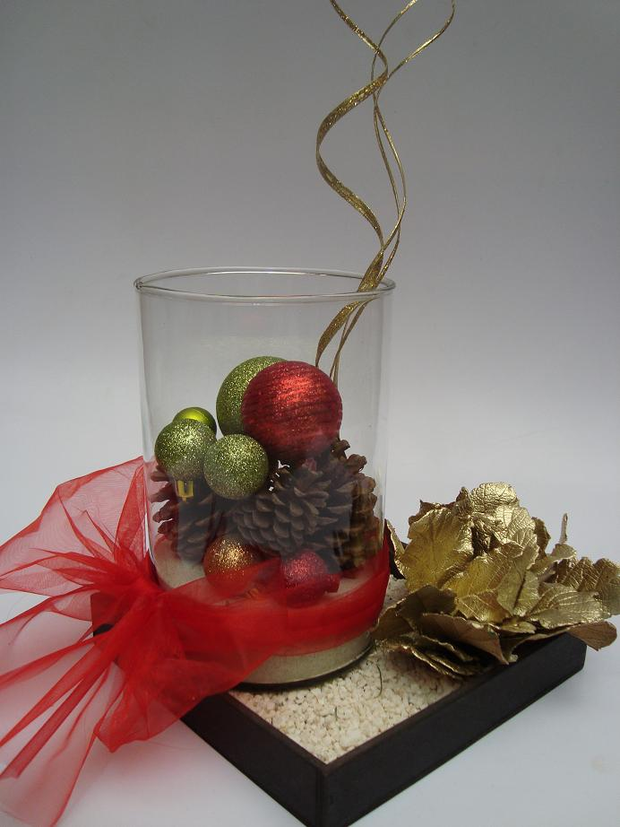 Floreria al natural qu regalar en sta navidad - Centro de mesa navideno ...