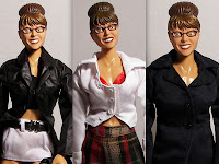 sarah palin, action figure, toy
