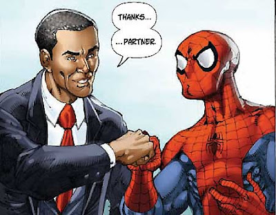 spiderman barack obama