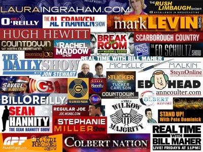 wallpaper, pundit, daily show, colbert, limbaugh, hannity, stewart, beck, ingraham, franken