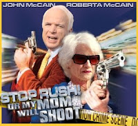 roberta mccain, rush limbaugh, john mccain, mother, shoot