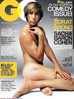 bruno, gq magazine, glenn beck