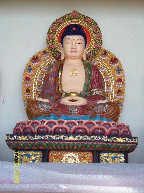 摩尼禅苑供奉的本师释迦牟尼佛