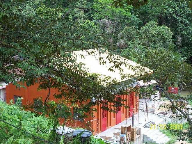 摩尼禅苑的小佛殿(建设中)