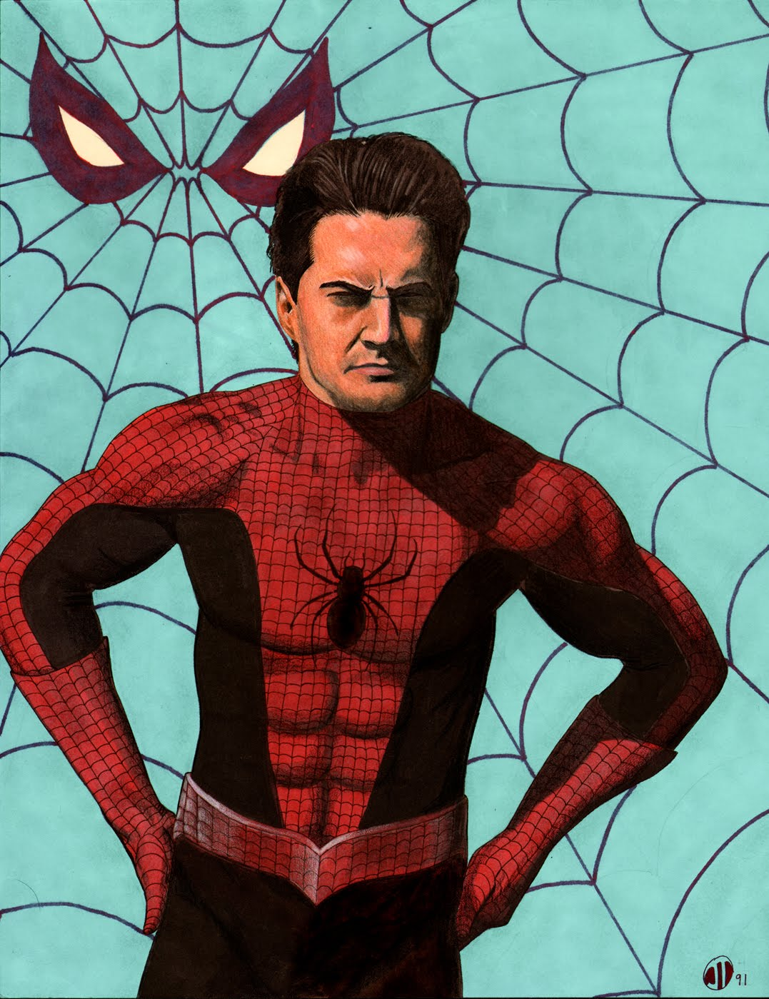 kyle mclachlan as spidey