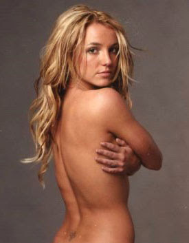 naked britney spears