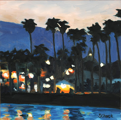 Santa Barbara Oil Painting