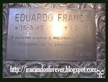 PLACA RECODATORIA A EDUARDO  FRANCO