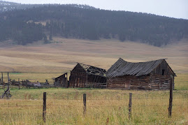 Old barn north of Avon, MT