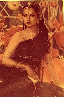 Vintage Sexy Actress Rekha