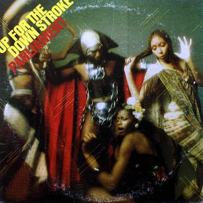 parliament funkadelic, george clinton, down stroke, album