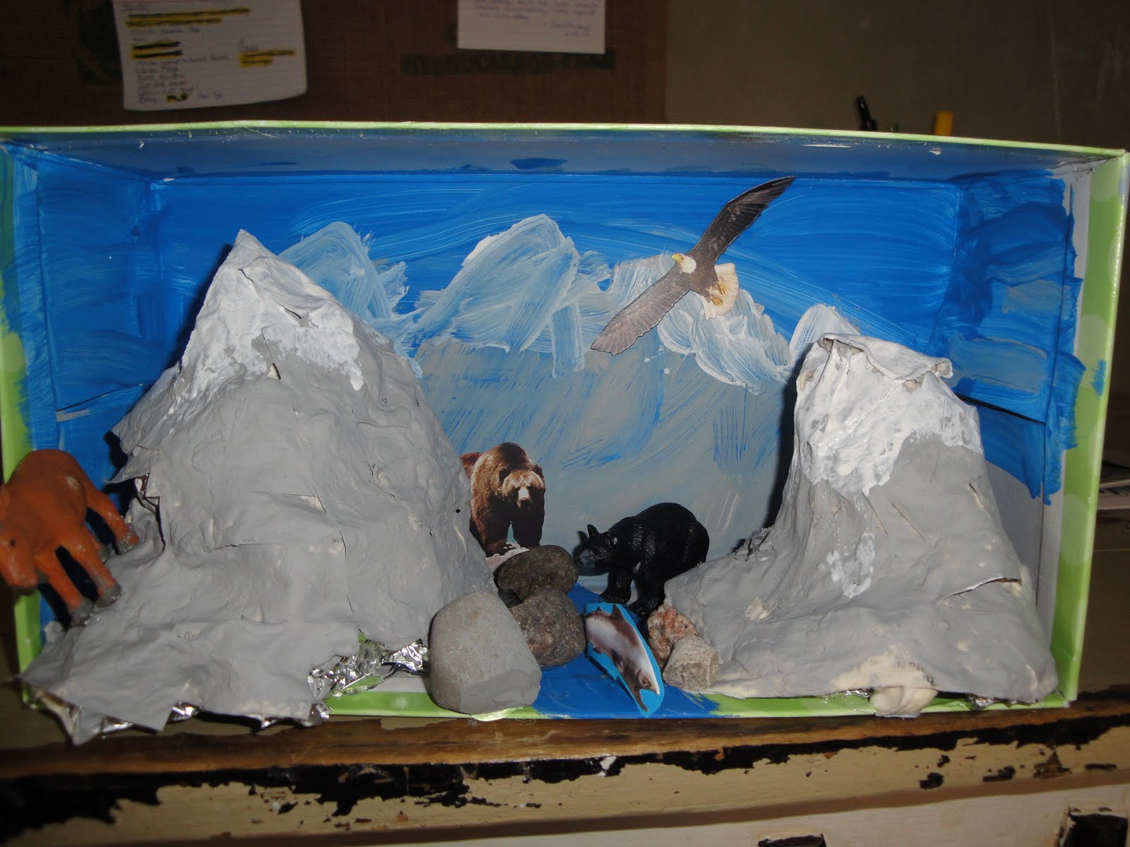 Native American Diorama Ideas http://www.aliciahutchinson.com/2009/11/mountains-and-more-native-americans.html