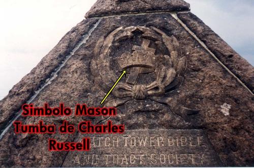 La Wachtower y el ocultismo numerologia y piramidologia unidas aqui las pruebas Rusel+tumba