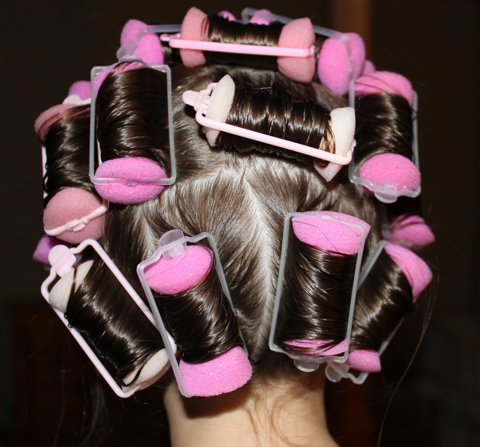 how to use sponge curlers