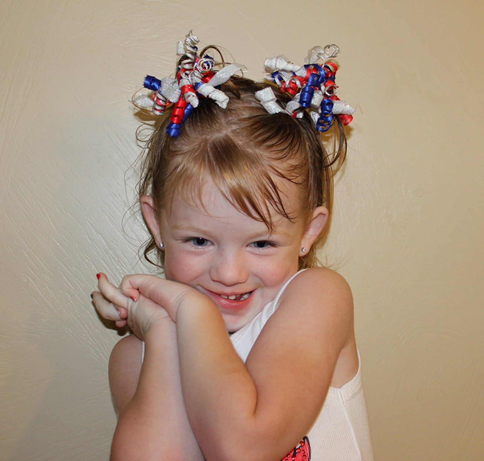 Hairstyles For Girls The Wright Hair 4th Of July Fun Toddler