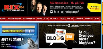 rix fm tävling