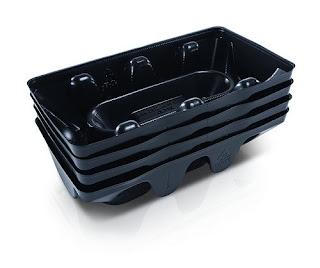 Polyethylene plastic trays
