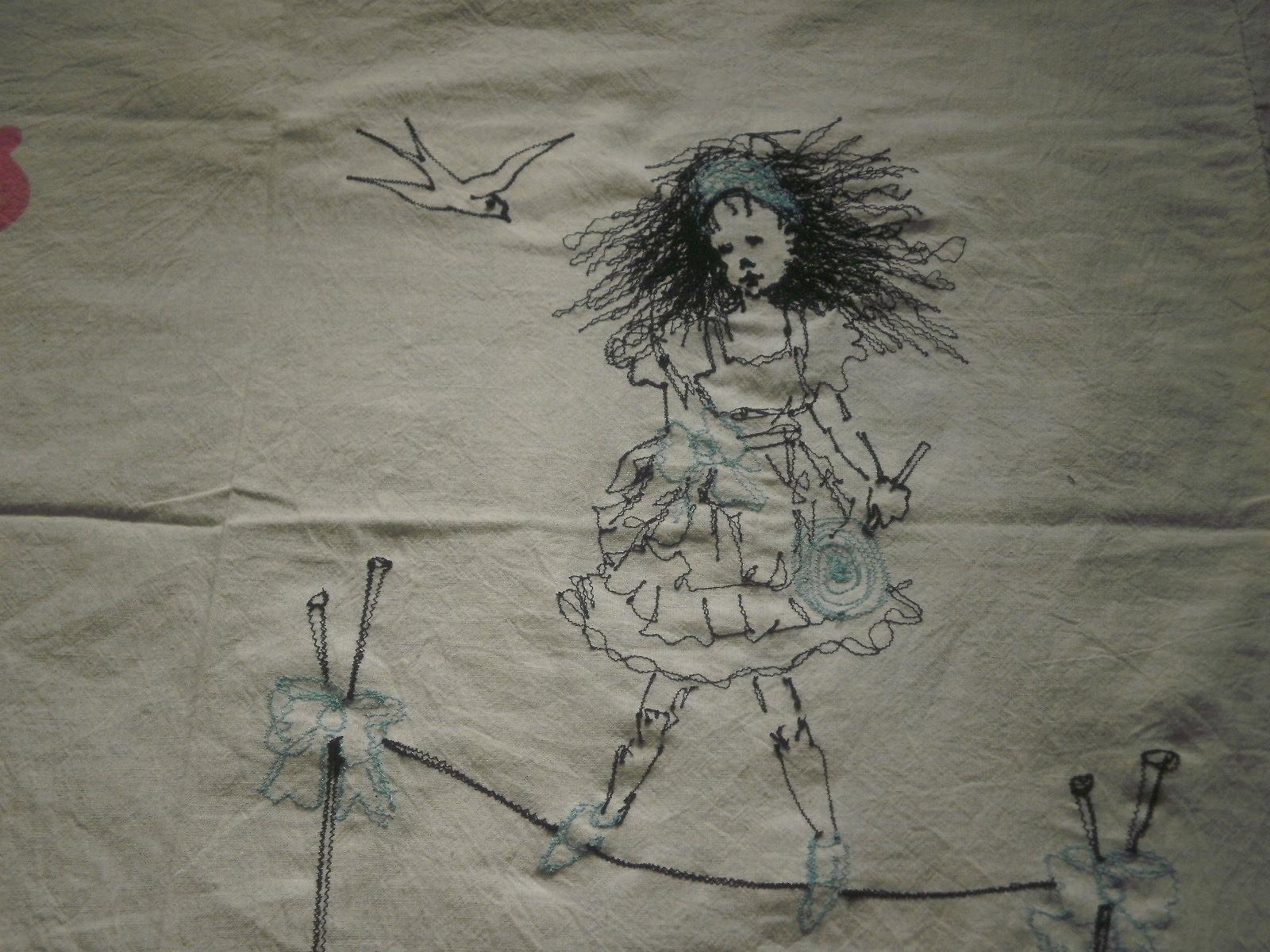 Feeling Stitchy Nerine S Machine Embroidery