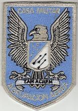 Distintivo Agrupación Aérea Presidencial (Actual):