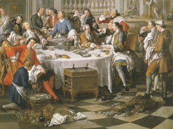 1700-luvulla kopioitiin innolla ranskalaisen hovin tapoja.