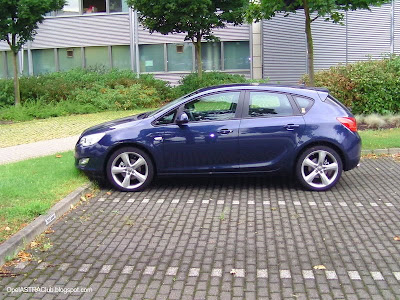 Opel astra club opel astra j