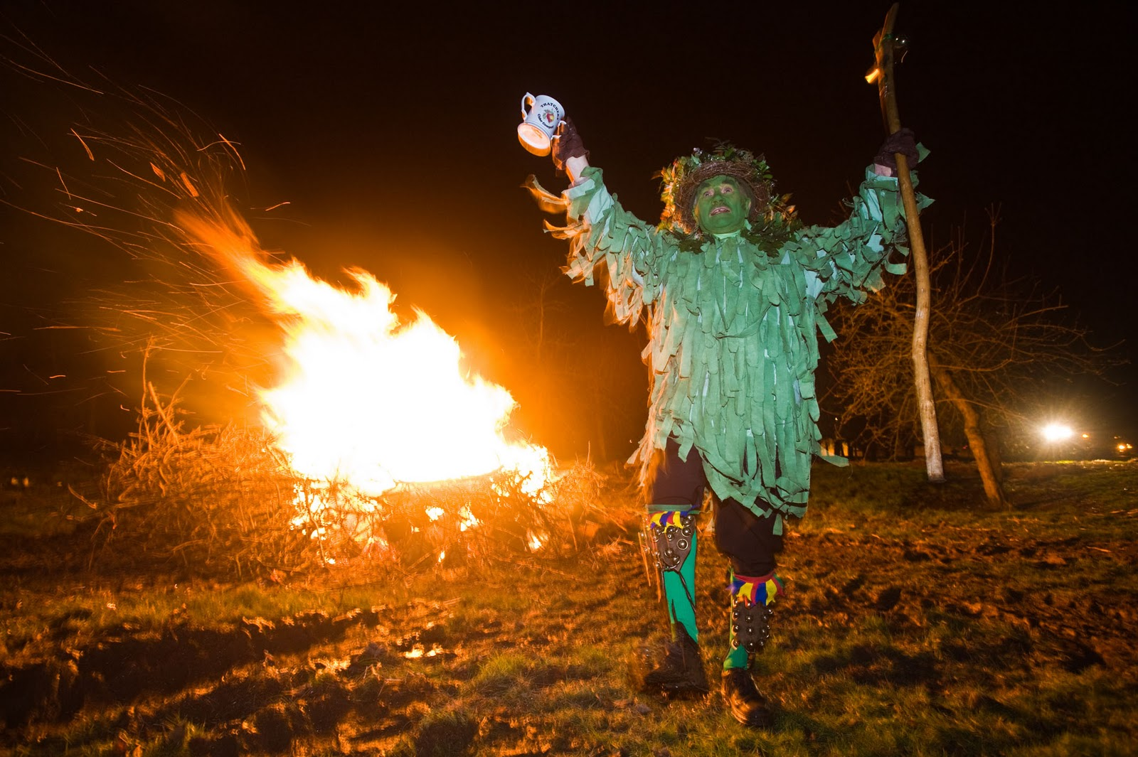 Wassail at Thatchers Cider, a private event - photo by Neil Phillips