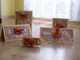 Christmas cards - collection minia&orange