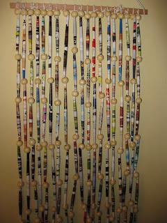separadores de ambiente y cortinas realizadas en papel madera e hilo medidas standard y a pedido valor referencia 80 x 180 cm 18000 - Cortinas Separadoras De Ambientes