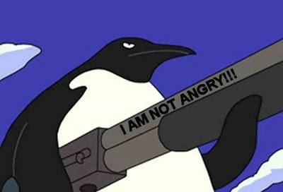 Insane penguins Angrypenguingun