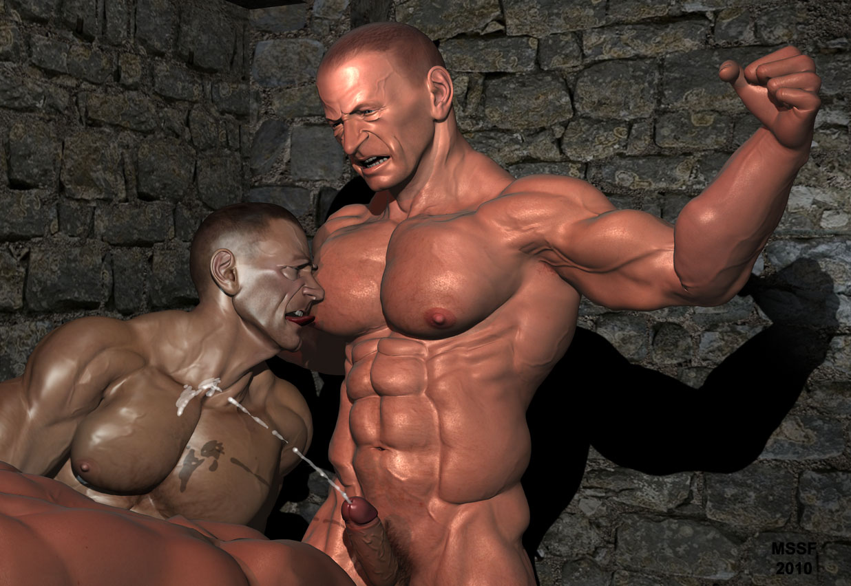 from Hugh gay bodybuilder sex slave
