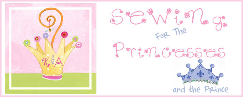 Sewing For The Princesses