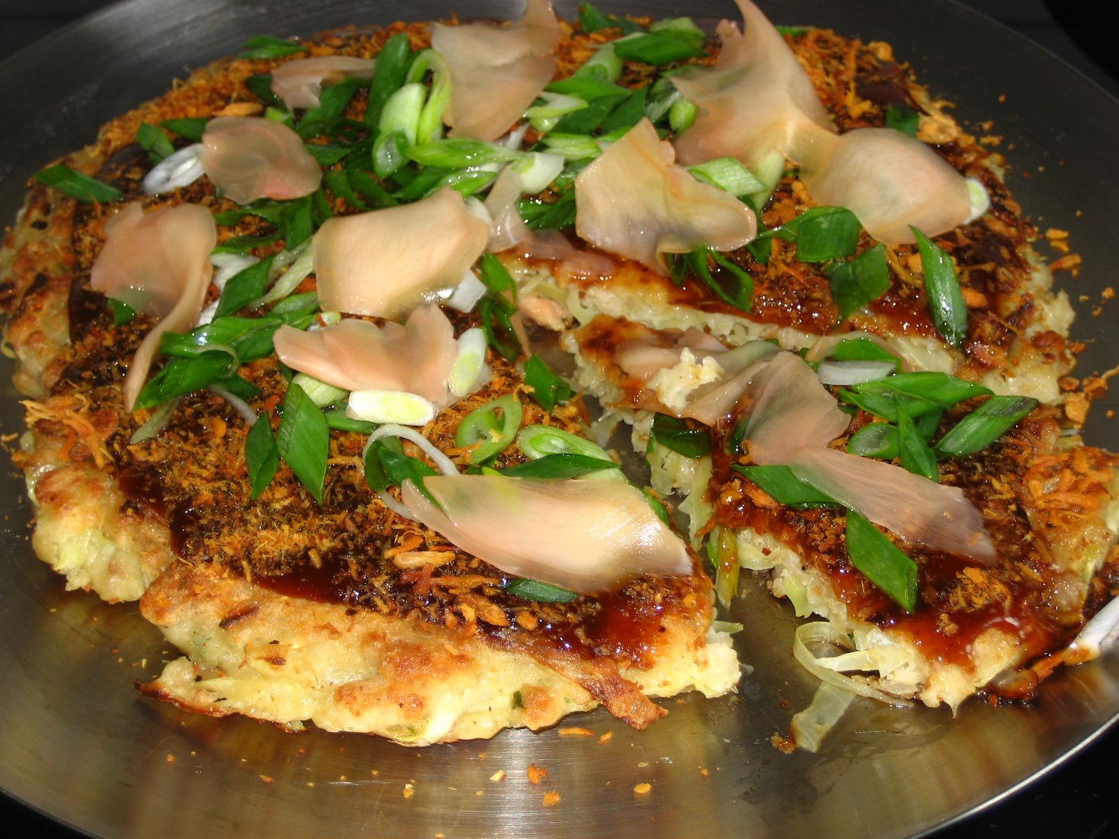 Japanese pizza (Okonomiyaki) | NoKiNoK