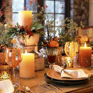 Home Sweet Home Inspiration: Thanksgiving Centerpieces