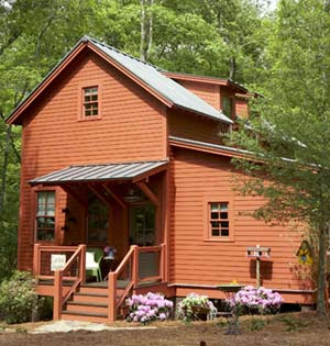 click on the links and take a tour of each home learn more about its location and features the photo above is the sugarberry cottage at habersham in - Home And Garden Home Giveaway