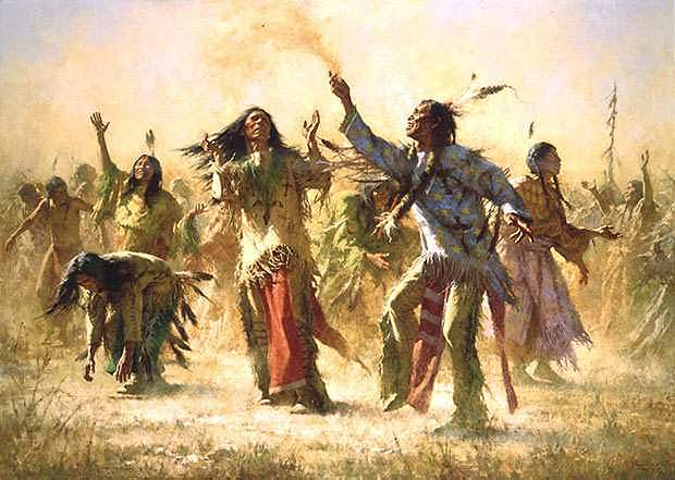 the ghost dance When describing the wounded knee massacre of 1890, many history books make two major errors: (1) they claim that this was the end of the ghost dance movement, and (2) they claim that this.