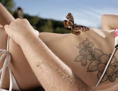 tattoo designs include the rose, orchids, A rose tattoo does not necessarily