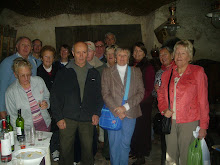 Wine tasting - one of our social activities