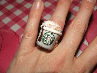 polymer clay miniature food jewelry